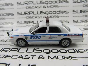 Greenlight-1-64-LOOSE-NYPD-2011-FORD-CROWN-VICTORIA-INTERCEPTOR-Auxiliary-Police