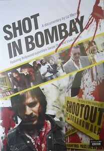 SHOT IN BOMBAY  A DOCUMENTARY BY LIZ MERMIN DVD  SANJAY DUTT amp VIVIK OBEROI - <span itemprop='availableAtOrFrom'>London, United Kingdom</span> - SHOT IN BOMBAY  A DOCUMENTARY BY LIZ MERMIN DVD  SANJAY DUTT amp VIVIK OBEROI - London, United Kingdom