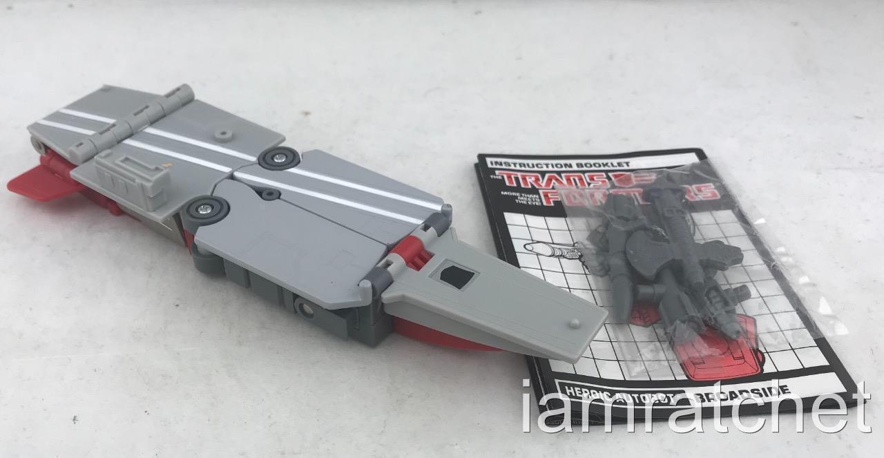 Transformers G1 ORIGINAL 1986 triplechanger dépliant complet  scellé armes  le réseau le plus bas