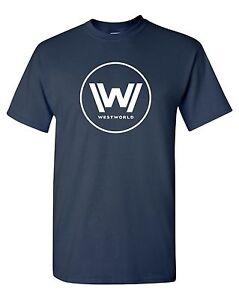 Westworld-Logo-T-Shirt-TV-Show-HBO-Geek-Nerd-Sci-Fi-Gift