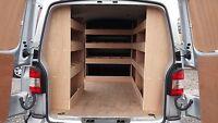 VW Transporter T5 Van Racking SWB COMPLETE  Plywood Shelving Tool Storage System