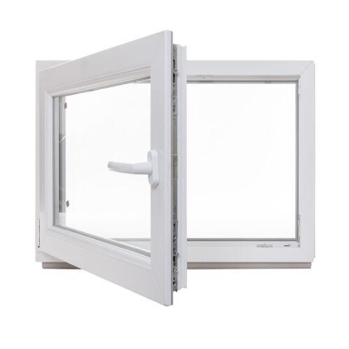 Keller Fenêtre Plastique Fenêtre Renforcé tourne Kipp toutes les tailles des marchandises en stock 2 /& 3