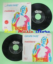 LP 45 7''GIANNI FARE' Maddalena Cosa diro' 1977 italy ARISTON AR/00765 no cd mc