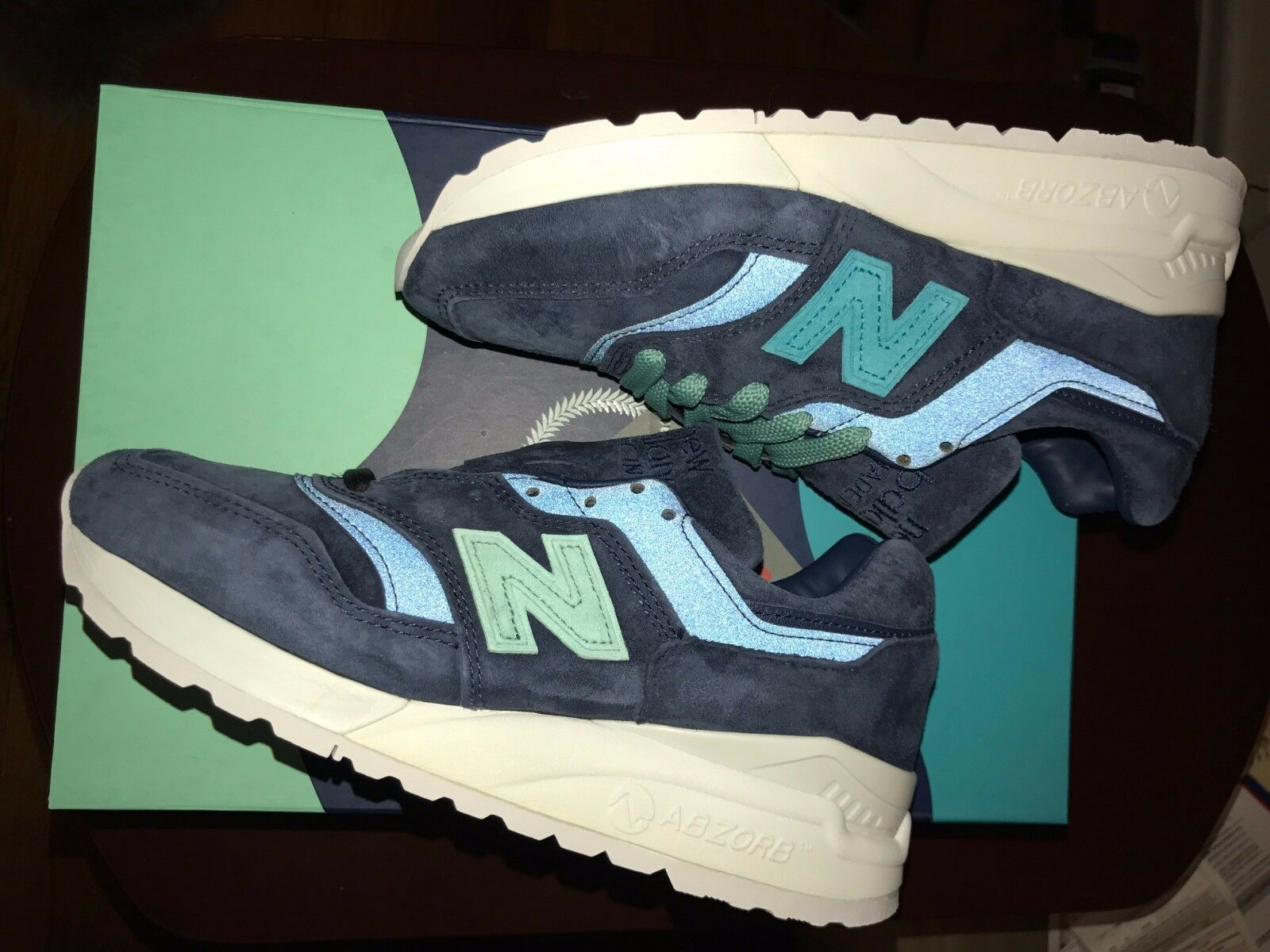 DS NEW BALANCE 997.5 MYKONOS CYCLADES RONNIE FIEG Taille 5 RARE