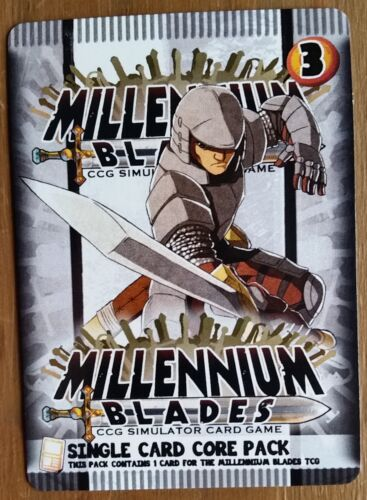 Millennium Blades Chucky Smooth Promo Dice Tower 2017 Mint Millenium Blades