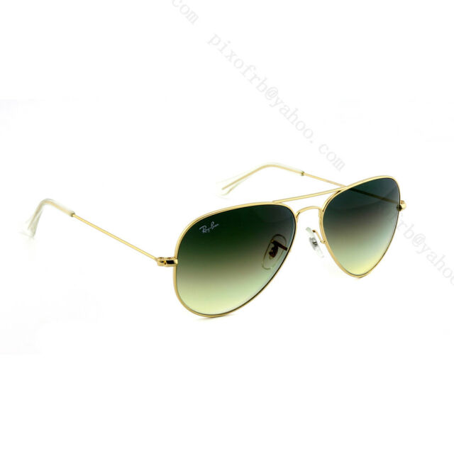 Ray Ban Sunglasses RB3044 Gray Metal Small Aviator 52 14   eBay 1fd1e609221e