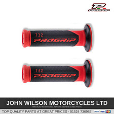 Honda XR650R XR650L CB1100 Red Handlebar Soft Grips