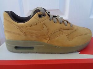 low priced cb5e9 ec867 Image is loading Nike-Air-Max-1-LTR-GS-PRM-trainers-