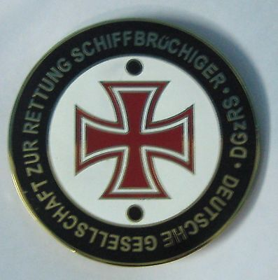 Vehicle Parts & Accessories German Red Cross Badge Car Grill Emblem Logos Metal Enamled Car Badge Keep You Fit All The Time Badges & Mascots