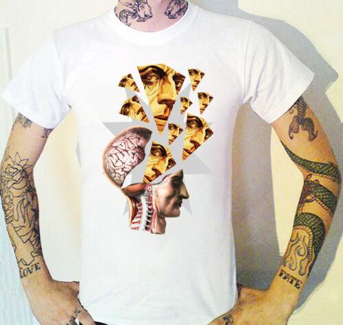 Cerebro amenaza Camiseta un bugspongewear Original Arte Surrealista
