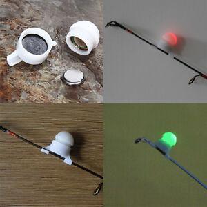 LED-Peche-de-Nuit-Detecteur-de-Touche-Lumineux-Alarme-Morsure-Poisson-Clip-on