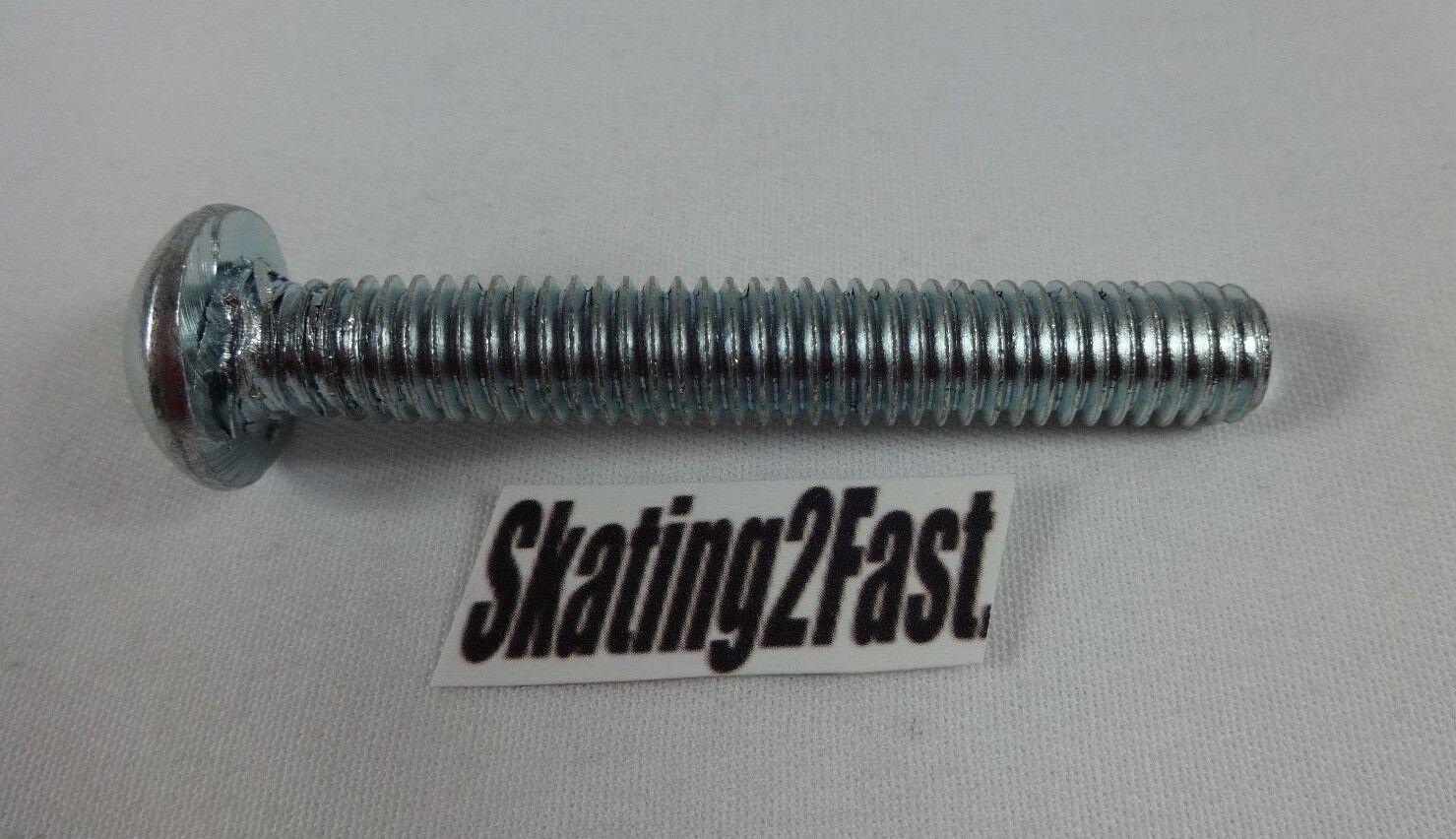 NEW Replacement LASER Skate Plate Action Bolt / Kingpin Slot Head Roller Skate