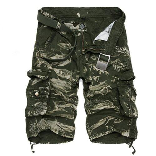 Estate Caldo vendita Pantaloni Corti con Tasconi Uomo Cool Stampa Camouflage Cotone Pantaloni 80 variazioni