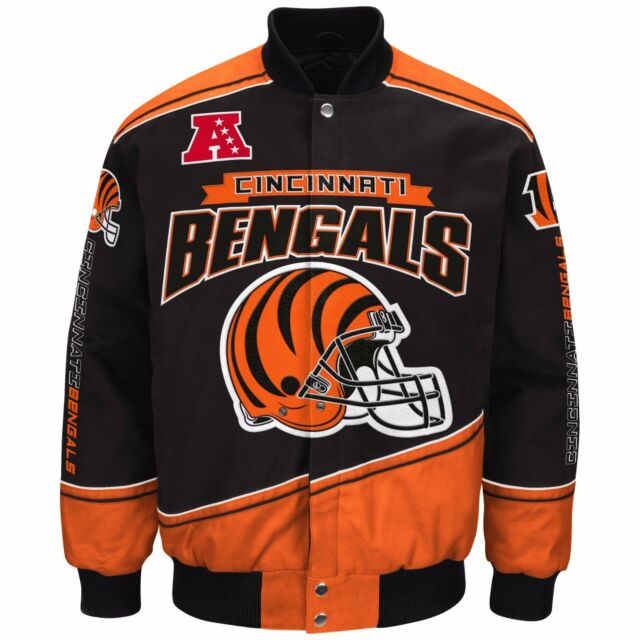 e33bbccc801b8d Cincinnati Bengals NFL Enforcer Jacket - Size Adult 3x Ship for sale ...
