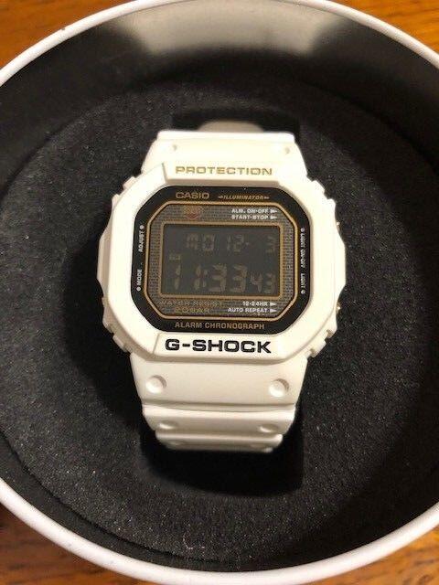 CASIO G-SHOCK DW-5025B-7DR 25th anniversary model limited rare item Rising white