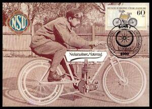 Bund-MK-1983-MOTOS-NSU-1901-Motorcycle-maximum-CARTE-MAXIMUM-CARD-MC-cm-m758