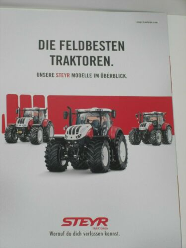 Steyr 11 Steyr tractores modelos folleto 11//2015 terrus tractores póster