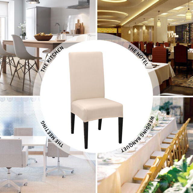 Brilliant Stretch Dining Chair Covers Slipcover Universal Removable Protective Cover Gift Inzonedesignstudio Interior Chair Design Inzonedesignstudiocom