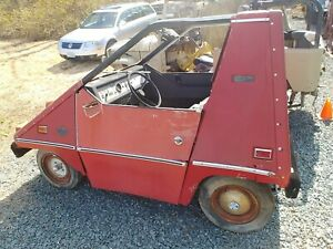 Details about 1975 CitiCar Electric Vehicle Street Legal Golf Cart Project  Sebring Vanguard