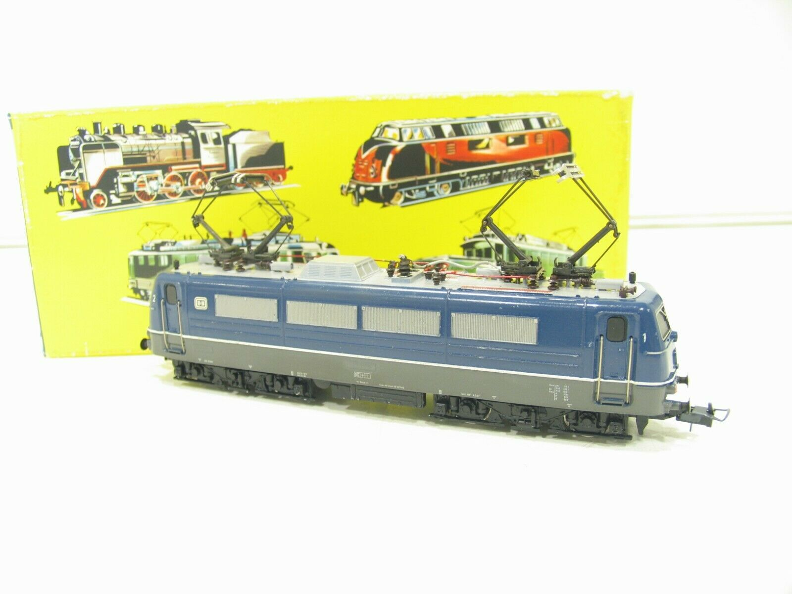 TRIX 2447 E-LOK BR 184 blue der DB    JS923