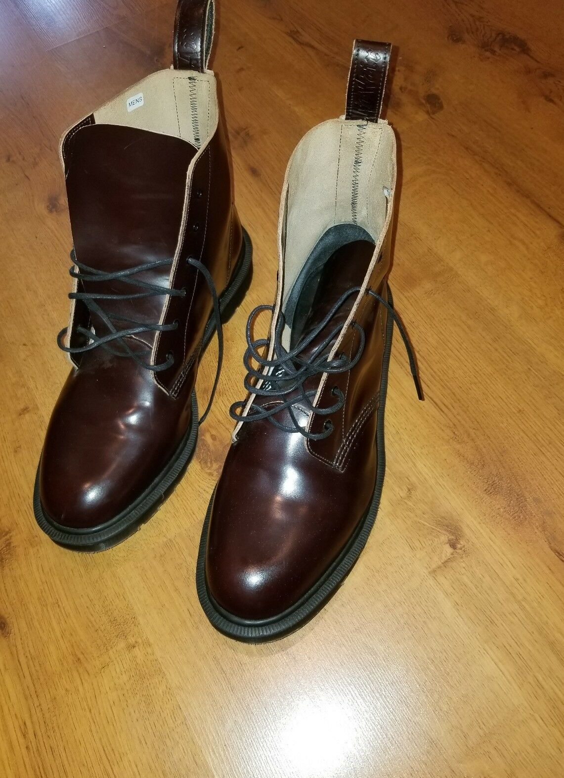 Dr Martens Mens Arthur Boanil Brush Leather MIE Boots Sz 13 US 12 UK