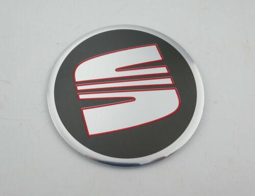 1 pezzi SEAT Alu Cerchioni Adesivo Coperchio mozzo logo emblema 64 mm