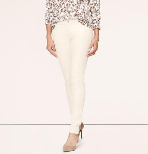 31P 30P Ann Taylor LOFT Modern Skinny Ankle Zip Corduroy Pants Var Colors 26P