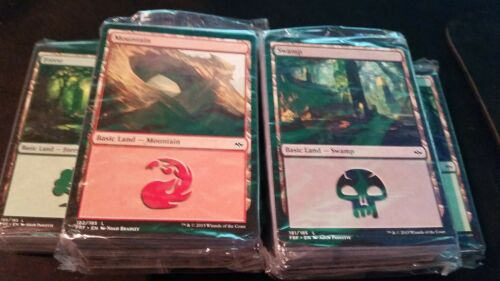 MINT 80 count Magic MTG FTG 1 Sealed Land Pack FATE REFORGED