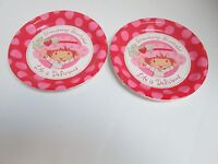 Strawberry Shortcake Dinner Plates - Lot Of 2 = 16 Plates - Party Supplies