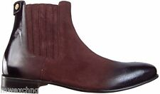 CESARE PACIOTTI STYLISH SUEDE ANKLE BOOTS US 10 ITALIAN DESIGNER MENS SHOES