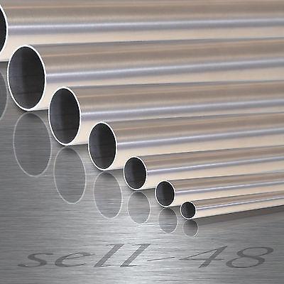 Edelstahlrohr EDELSTAHL stange Leitungsrohr Konstruktionsrohr nach Maß bis 200cm