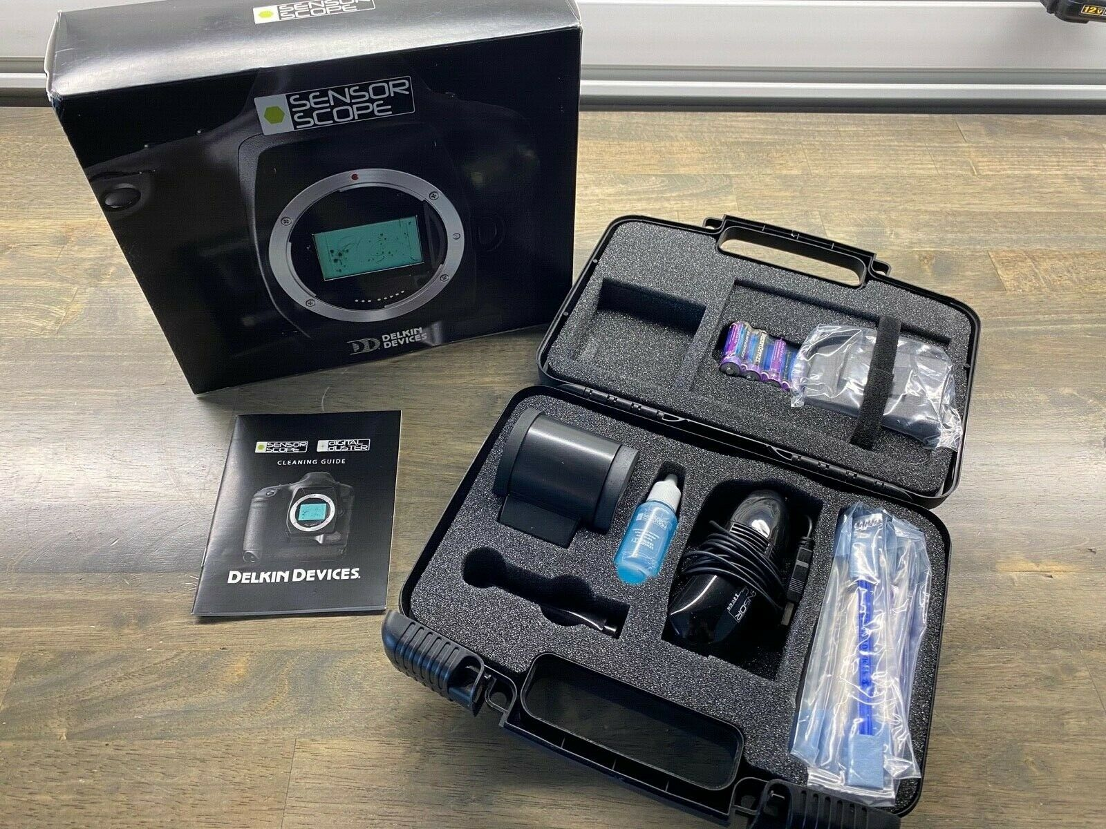 Sensor Scope Digital SLR Image Sensor Cleaning Kit Delkin