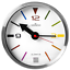 Small-wall-clock-CHERMOND-metal-case-white-dial-20-cm thumbnail 1