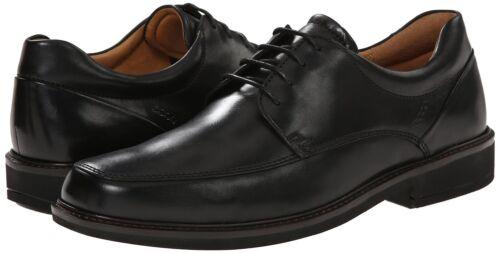 ECCO Men/'s 621114 black lace Holton Apron Toe Oxford