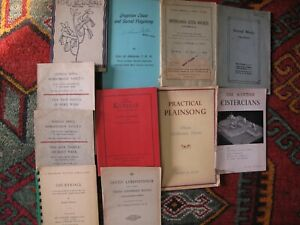 Details about Lot of 11 Gregorian Chant Catholic Liturgy Music Plainsong  Musical Cistercian VG