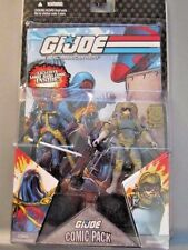 GI JOE COMIC PACK COBRA COMMANDER LEADER & TRIPWIRE MINE DETECTOR UNOPENED