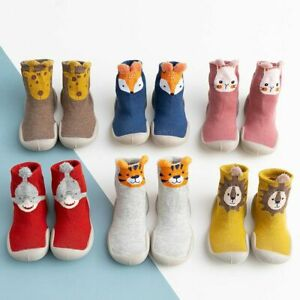 Baby-Girls-Boys-Toddler-Anti-slip-Slippers-Socks-Cotton-Shoes-Winter-Warm