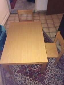 Kindertisch Mit Stuhlen Ebay