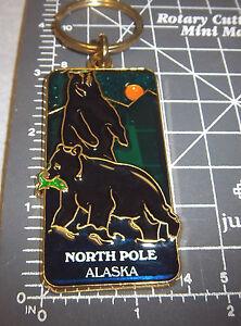 North-Pole-Alaska-Keychain-Stained-Glass-Style-2-Black-Bear-midnite-sun