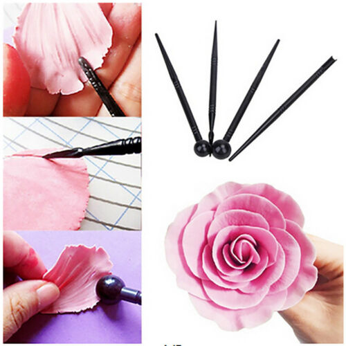 Kitchen Accessories DIY Flower Modelling Tool Cake Fondant Biscuits Cake Carved