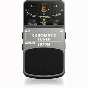 behringer tu300 chromatic pedal footswitch guitar bass tuner 689076751070 ebay. Black Bedroom Furniture Sets. Home Design Ideas