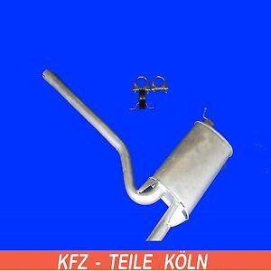 AUDI-A4-1-6-Sistema-de-escape-Silenciador-central-Kit-Montaje-8d2-B5