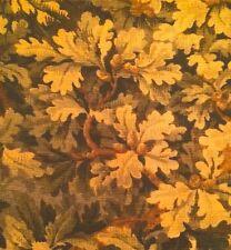 OLD WORLD WEAVERS Bois de Chene Verdure Woods Tapestry Green Cotton Remnant New