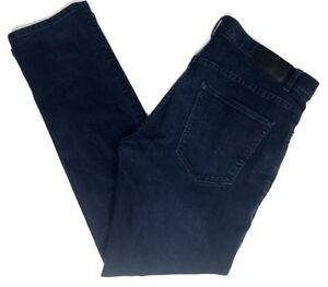 Mens-Perry-Ellis-Dark-Blue-Casual-Denim-Jeans-Pants-Size-36-X-32