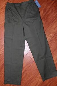 Koret Missy Regular Olive Green Casual Slacks, Size 10, NWT