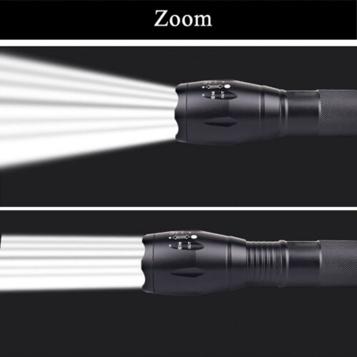 Powerful T6 LED Rechargeable Flashlight Torch 18650 Battery 4000 lumens