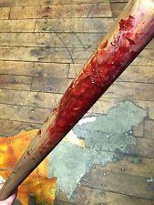 Bloody Baseball Bat Halloween Weapon Foam Haunted House Butcher Shop Prop