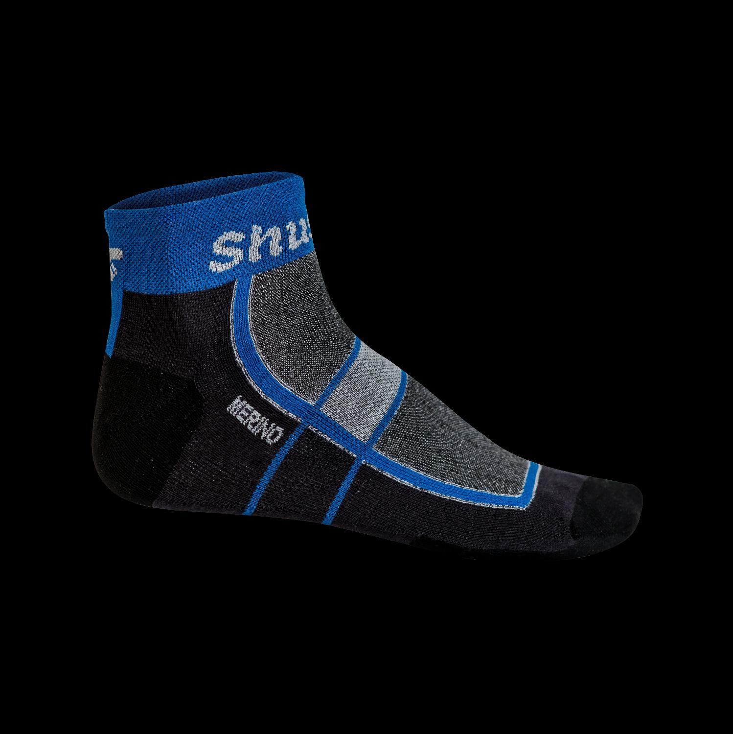 2 Paar Shushon® Escape II Aktiv Merinowolle Socken Größe 36-38