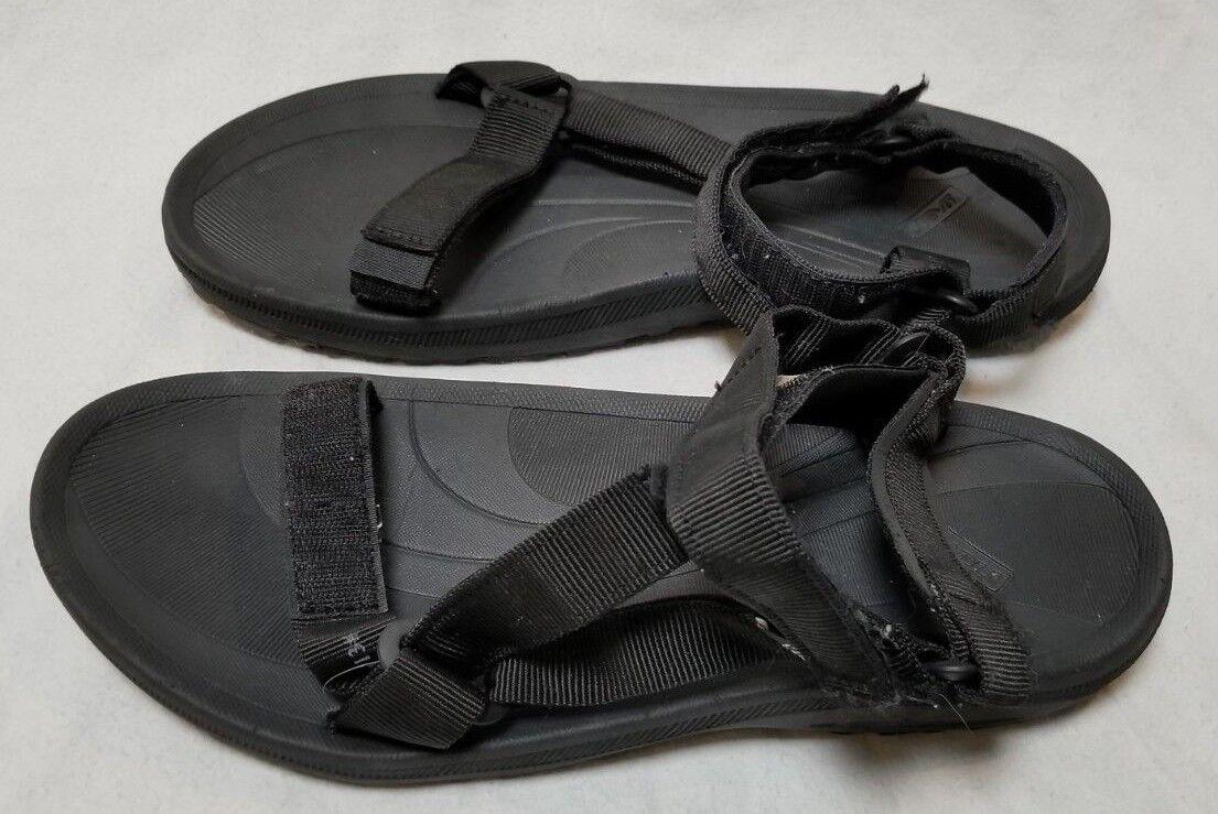 nuevo-sin etiquetas  TEVA 6584 Negro Sandalias Senderismo Tamaño 13 M-Envío urgente Gratuito