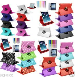 360-gradi-rotazione-PELLE-SMART-STAND-CASE-COVER-PER-APPLE-IPAD-3-4-Air-Mini-2